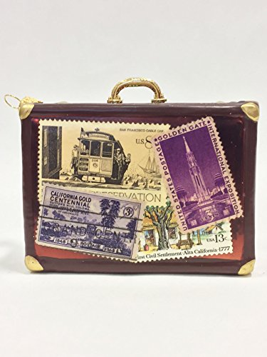 Ornaments to Remember: LUGGAGE Ornament (California)