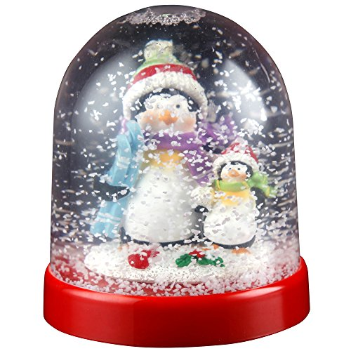 Christmas Shop Character Snowglobe Decoration (One Size) (Penguin)
