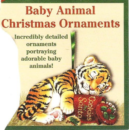 Brand New Collectible BABY TIGER Ornament from the Danbury Mint