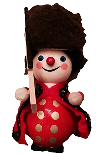 Steinbach Beefeater King's Guard Wood Ornament