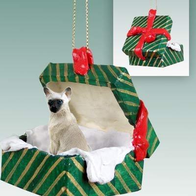 Siamese Christmas Ornament Hanging Gift Box