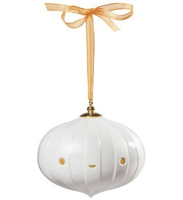 Lladro – ORNAMENT 2-FRIENDS WITH YOU-WHITE-GOLDEN
