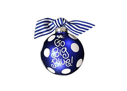 Coton Colors Kentucky Dot Glass Ornament