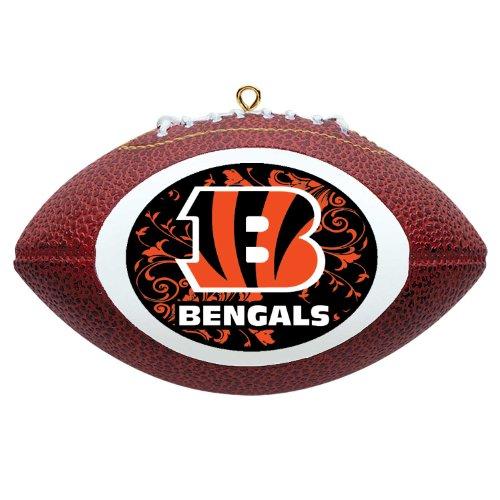 NFL Cincinnati Bengals Mini Replica Football Ornament