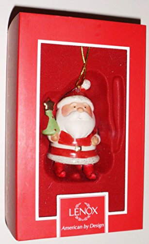 Lenox – SANTA'S CHIME – Christmas Ornament