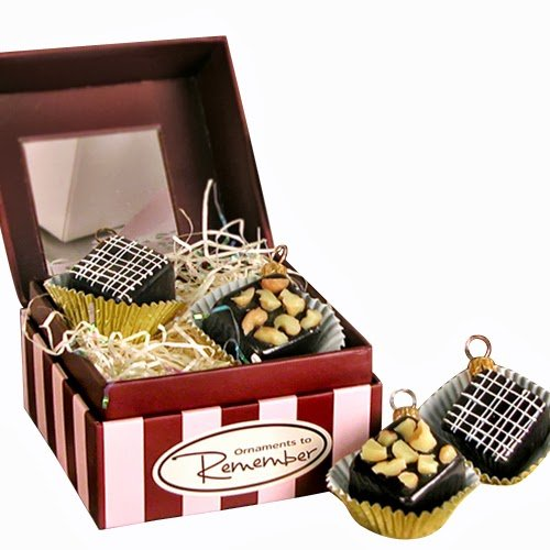 Ornaments to Remember: CHOCOLATES Christmas Ornament SET