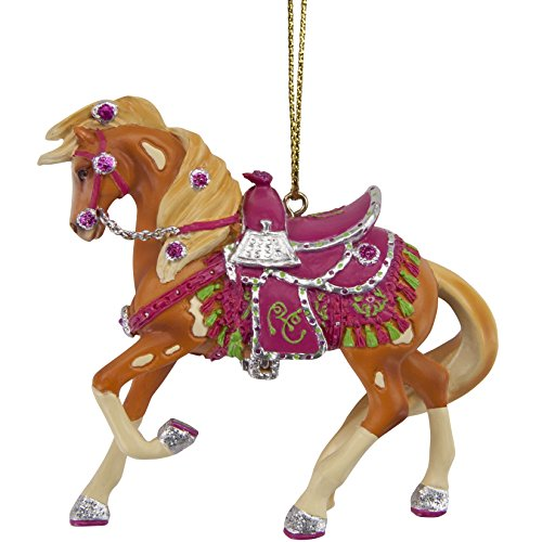 Enesco Trail OF Painted Ponies – Rhinestone Cowgirl Ornament