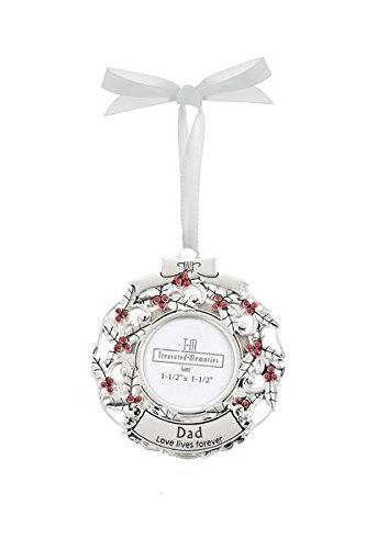 GANZ Memorial Photo Ornament, Dad, Zinc – EX27552