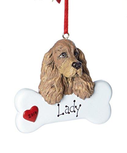 Cocker Spaniel Personalized Ornament
