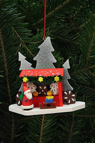 Tree ornaments Tree Ornaments Strizelmarkt Booth with Niko – 9,2×8,7cm / 4×3 inch – Christian Ulbricht