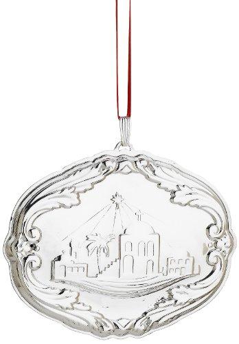 Reed & Barton Francis I Songs of Christmas Ornament, Bethlehem, 2-3/4-Inch