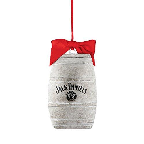 Department 56 Jack Daniels Jack Daniel's Barrel Ornament, 3.5″