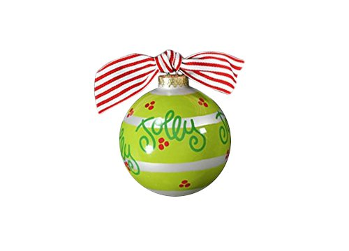 Coton Colors Festoon Glass Ornament
