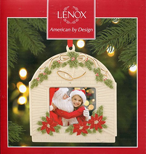 Lenox Holiday Window Frame Photo Ornament