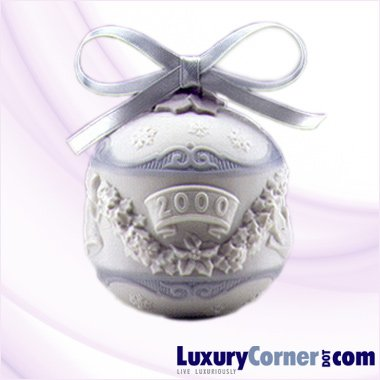 LLADRO 2000 CHRISTMAS BALL 01016699