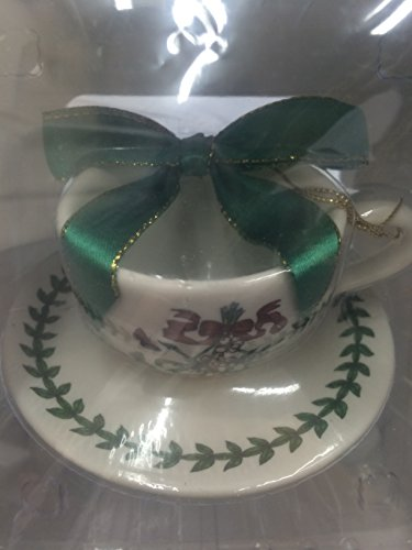 Spode Botanic Garden Cup and Saucer Ornament