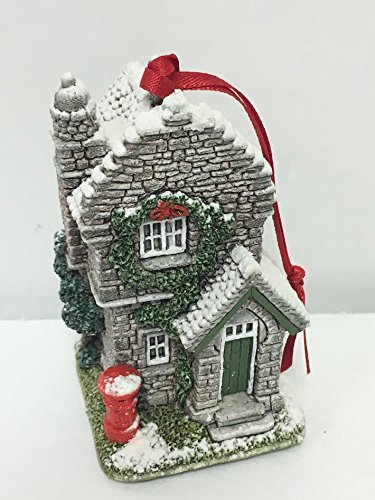 Lilliput Lane Ornament Plum Cottage