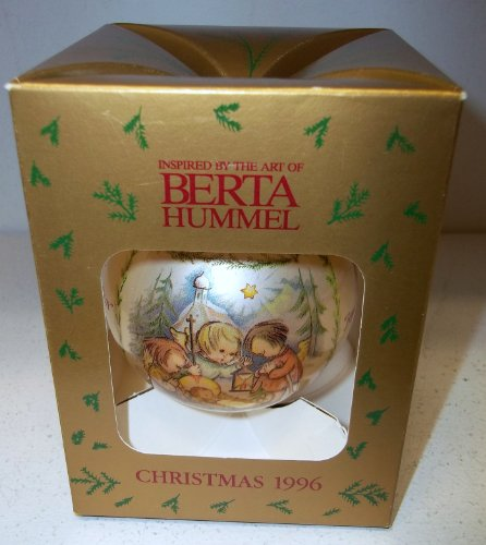 Goebel Berta Hummel Inspired Christmas 1996 Annual Christmas Ball