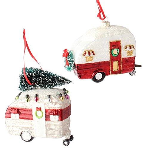 RAZ Imports Camper Ornament
