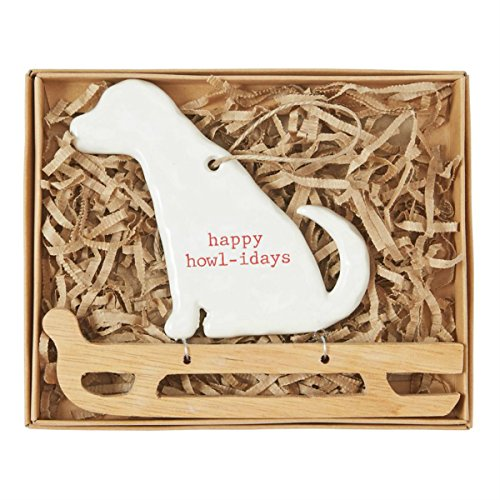 Mud Pie Dog Sled Ornament