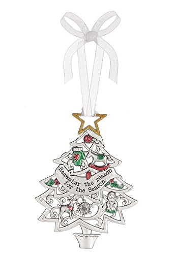 Ganz Christmas Wishes Ornament – Remember The Reason For The Season