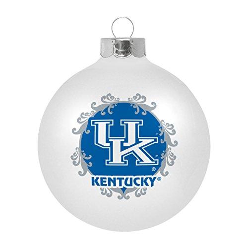 NCAA Kentucky Wildcats Large Ball Ornament