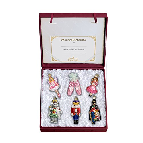Old World Christmas Nutcracker Suite Collection Glass Blown Ornament