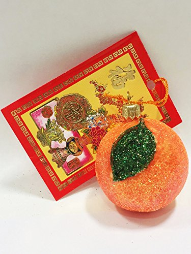 Ornaments to Remember: TANGERINE Christmas Ornament (Good Luck)