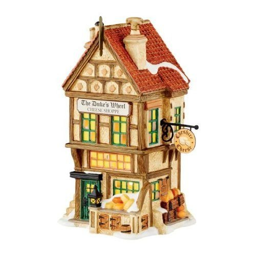 Department 56 4050930 Dicken's Village The Duke's Wheel Cheese Shoppe