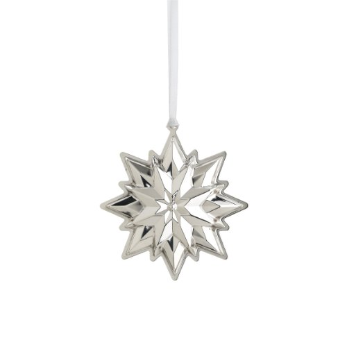 Lunt 2013 Annual Star Ornament, 2.35-Inch, Sterling Silver