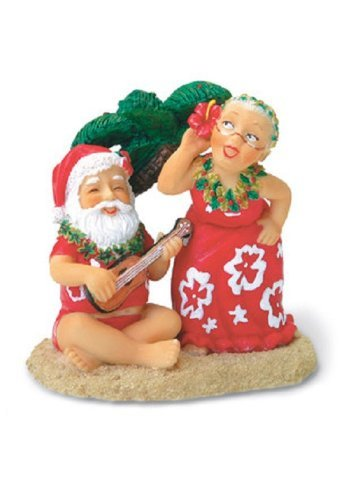 Island Heritage Santa and Dancing Mrs. Claus Ornament by Island Heritage
