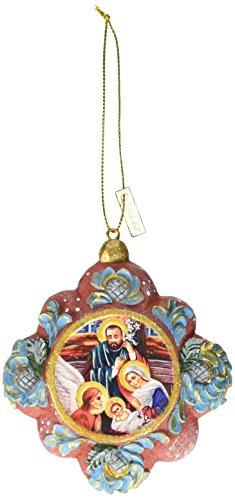 G. Debrekht Inspirational Scenic Ornament, 3.5″
