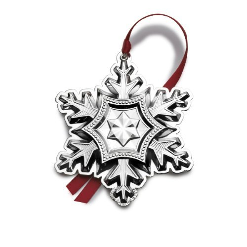 Gorham 2014 Snowflake Ornament, 45th Anniversary Edition by Wallace