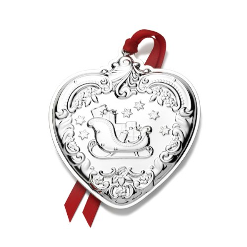 Wallace 2013 22nd Edition Grande Baroque Heart Ornament