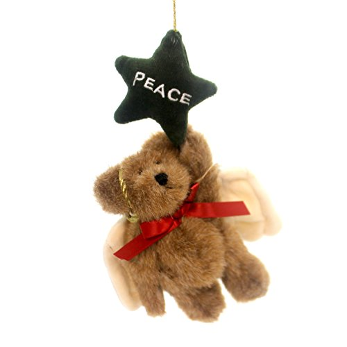 Boyds Bears Plush P. B. STARCATCHER ORNAMENT Teddy Bear Peace Star 562409