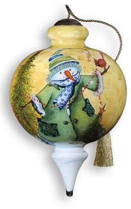 Ne'Qwa Art Winter Joy Ornament By Artist Michelle Palmer 302