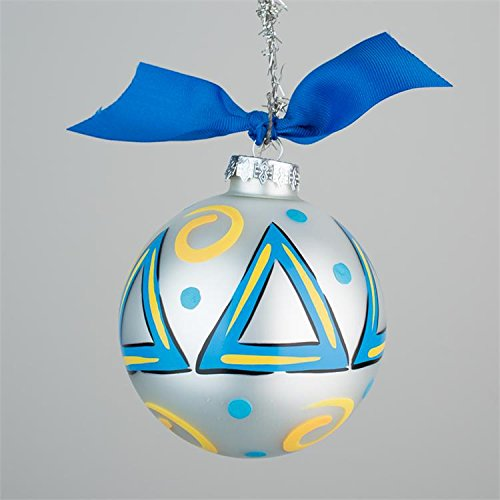Glory Haus Delta Glass Ornament, 4-Inch