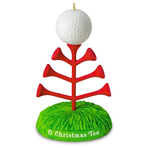 Hallmark 2016 Christmas Ornament O Christmas Tee Golf Ornament