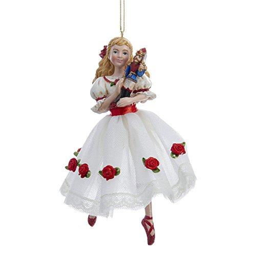 Kurt Adler 6″ Resin Clara Christmas Ornament