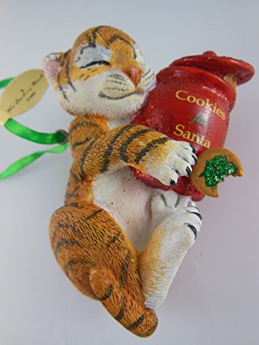 Danbury MInt Baby Animal Collectible Tiger Cub Ornament
