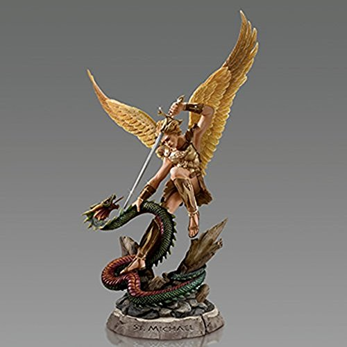 The Bradford Exchange Michael Angel of Protection Archangels of the Lord Sculpture Collection