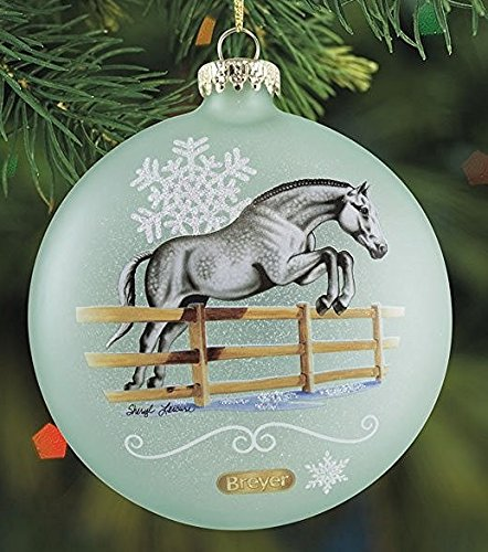 BREYER ARTIST SIGNATURE ORNAMENT – 2016 HOLIDAY HORSE – LIMITED EDITION