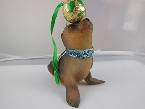 Danbury MInt Baby Animal Collectible Sea Lion Ornament