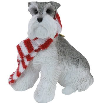 Sandicast Dog Ornaments XSO018 Gray Schnauzer [Kitchen]