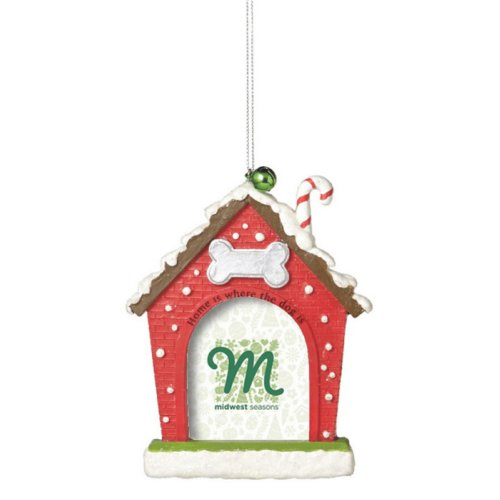 Christmas Dog House Frame Ornament by Midwest-CBK