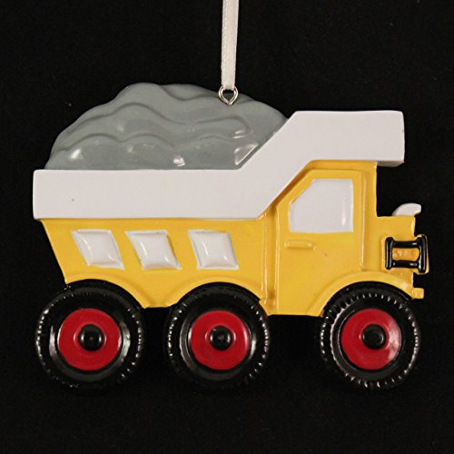 Dump Truck Christmas Holiday Ornament