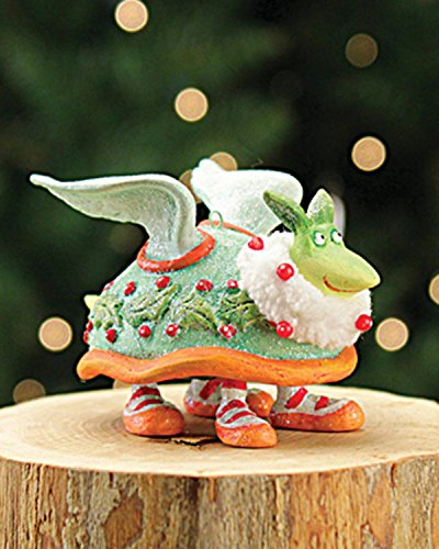 2.5″ Patience Brewster Krinkles Mini Turtle Dove 12 Days of Christmas Ornament