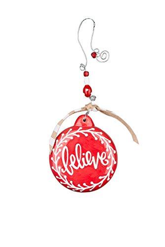 Glory Haus Believe Puff Ornament, 4″
