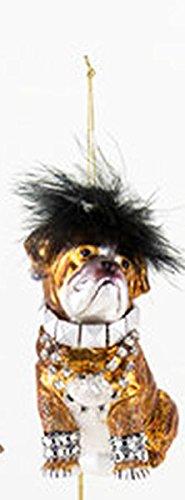 One Hundred 80 Degrees Dog Hanging Ornament (Bulldog)