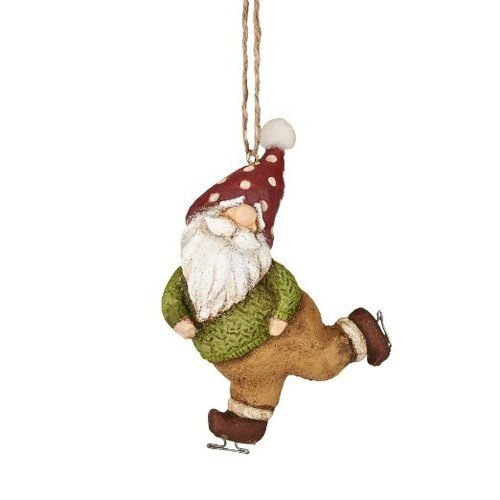 Department 56 Welcome To The Forest by Skating Gnome Ornament 3 In